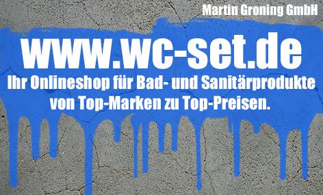 www.wc-set.de - Markenware von Geberit, Ideal Standard, Grünbeck, Wilo, uvm. günstig kaufen